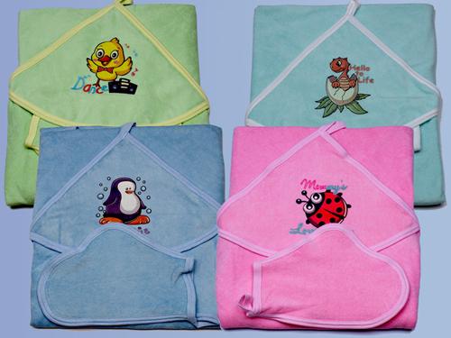 Полотенце для купания с рукавичкой 0049 - textil-ivanovo.ru